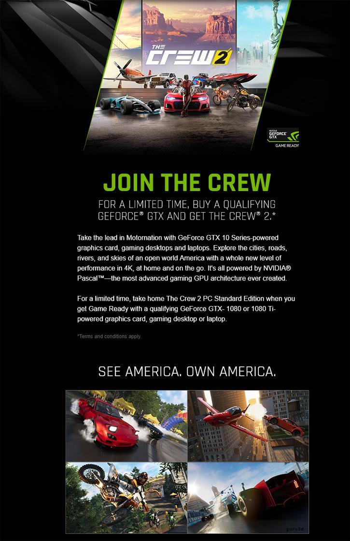 Nvidia - promocja The Crew 2