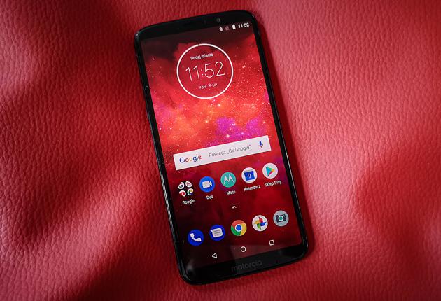 Android 8.1 Oreo smartfon Moto Z3 Play