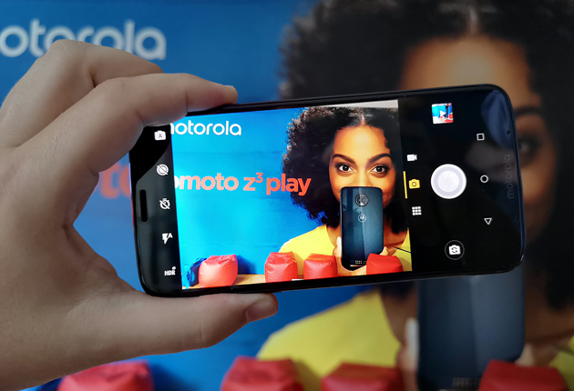 Moto Z3 Play aparat
