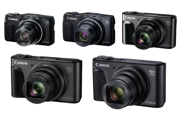 Canon seria SX7x0 HS