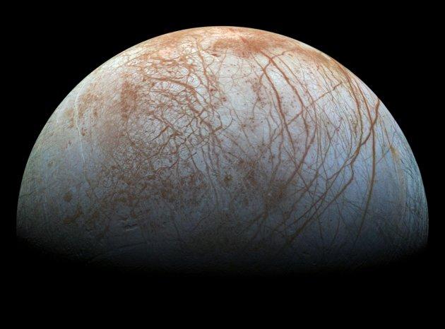 Europa widziana przez Galileo