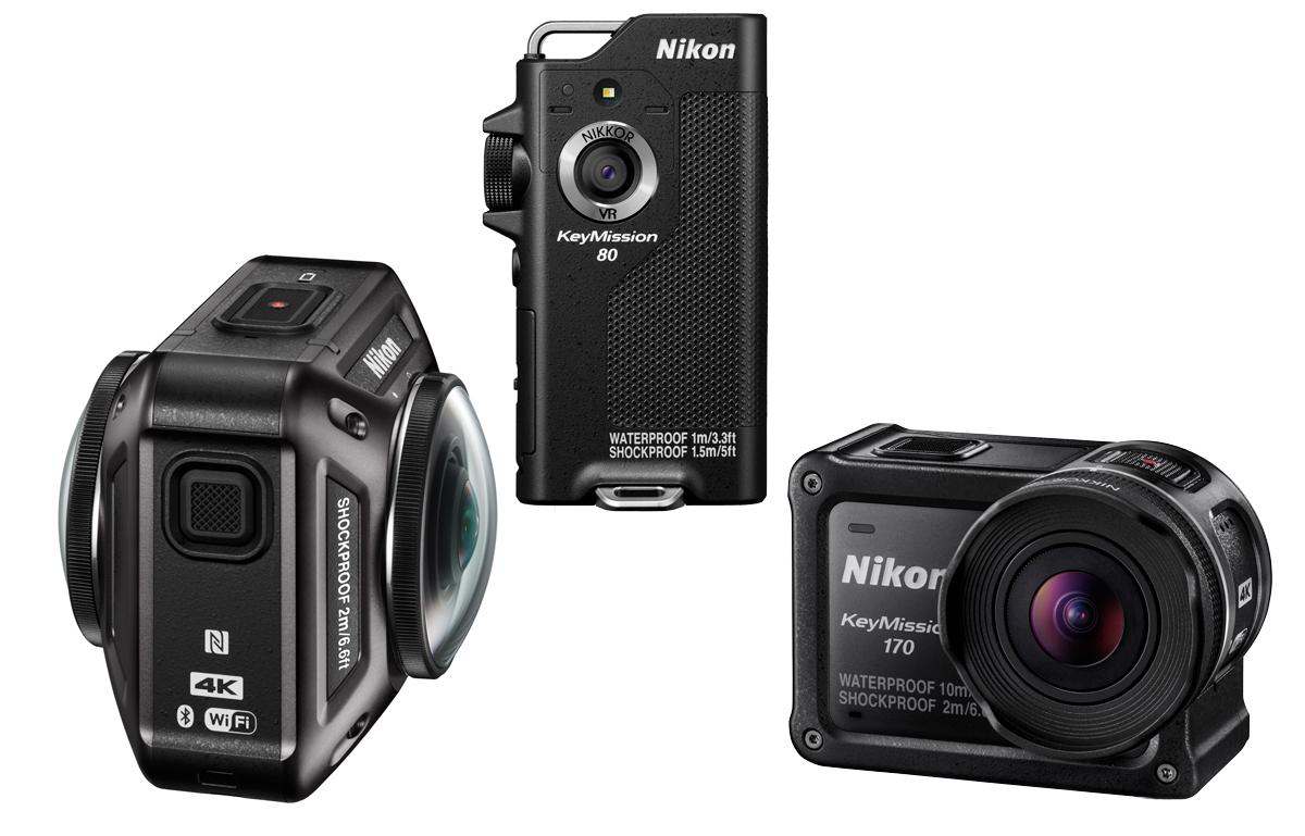 Nikon KeyMission kamery