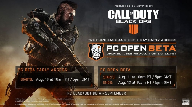 Call of Duty: Black Ops 4 beta PC