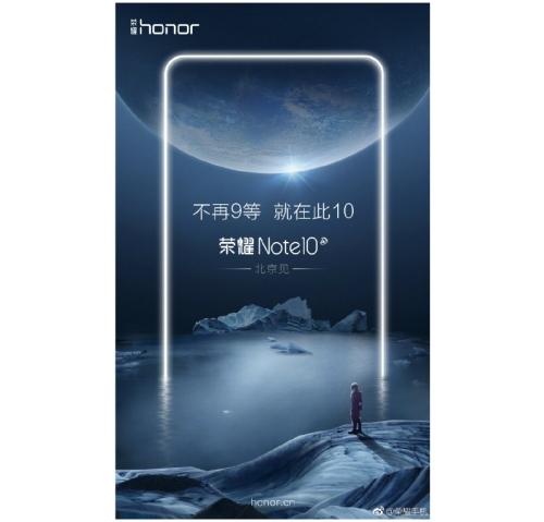 Honor Note 10 zapowiedź