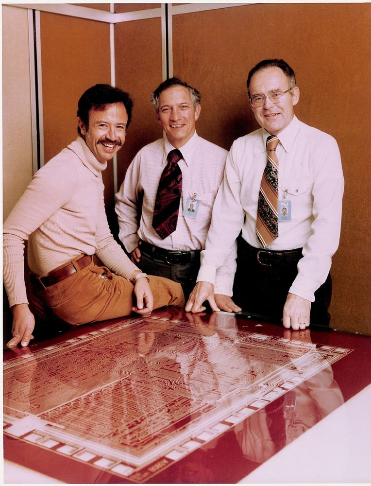 Andy Grove, Robert Noyce i Gordon Moore