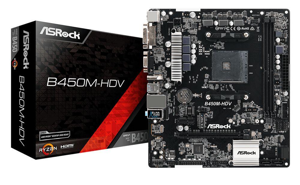 ASRock B450M HDV