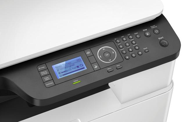HP LaserJet LCD