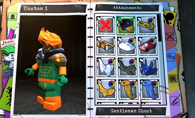LEGO Złoczyńcy kreator