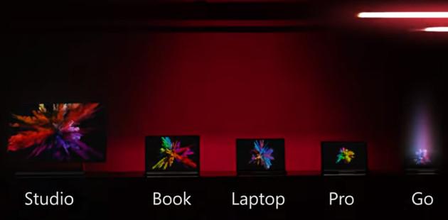 Microsoft Surface rodzina