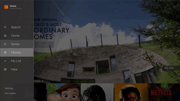 Netflix nowy interfejs