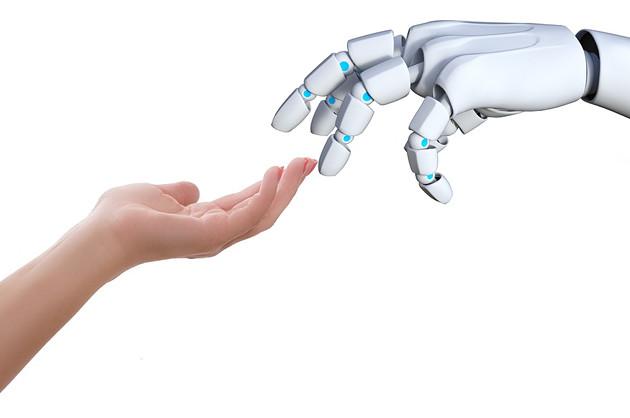 Robot dłonie