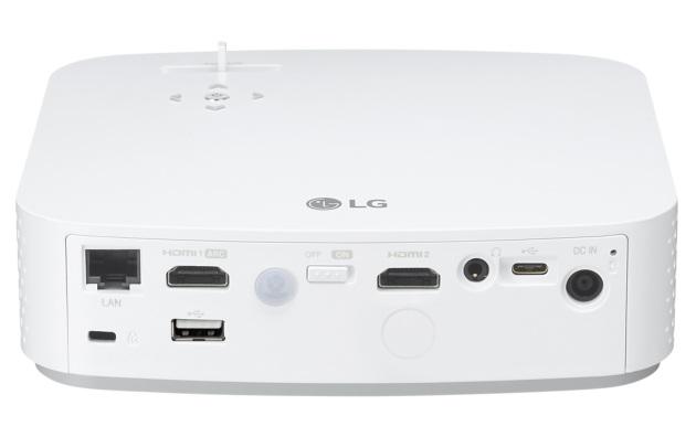 LG PF50KS tył