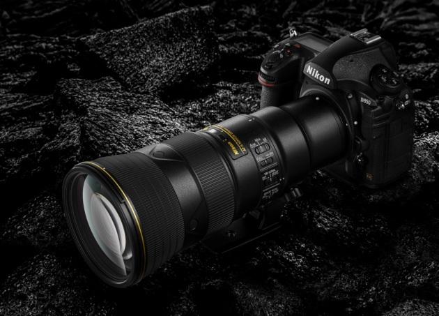 Nikon D850 i 500 mm
