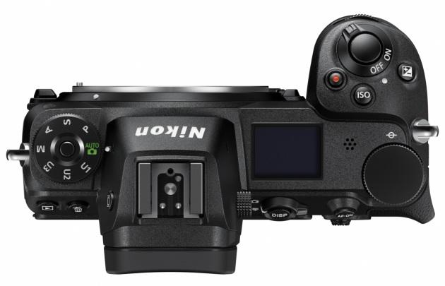 Nikon Z górny panel