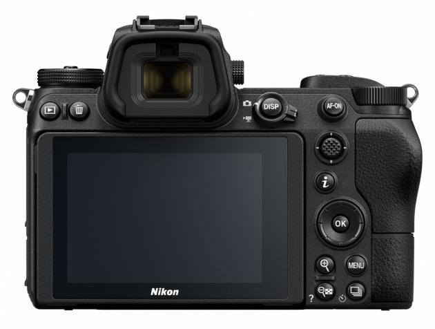 Nikon Z tylna ścianka