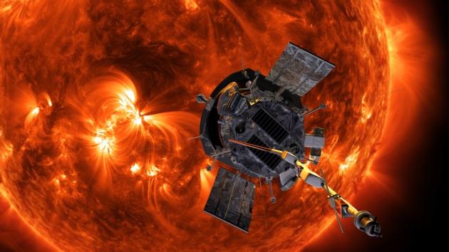 Parker Solar Probe i Słońce
