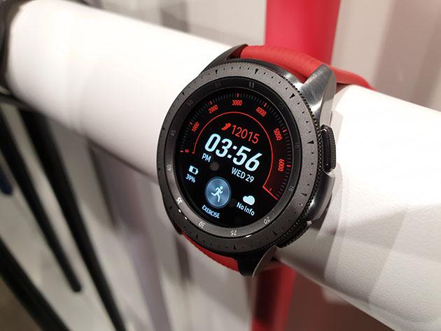 Samsung Galaxy Watch 2018 - 42 mm czerwony
