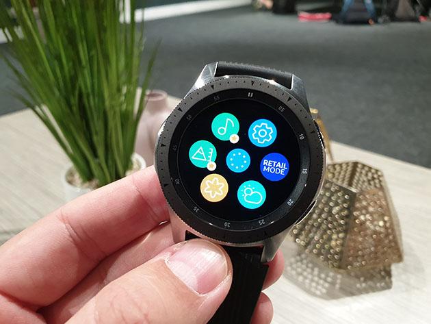 Samsung Galaxy Watch 2018 - wyświetlacz AMOLED