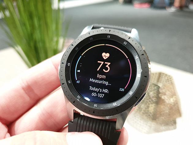 Samsung Galaxy Watch 2018 - mierzy puls
