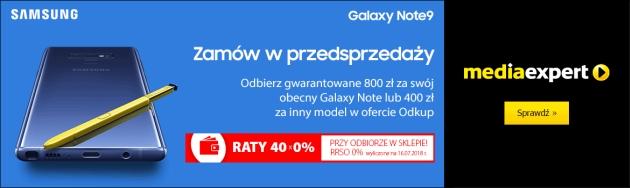 Galaxy Note 9 w Media Expert