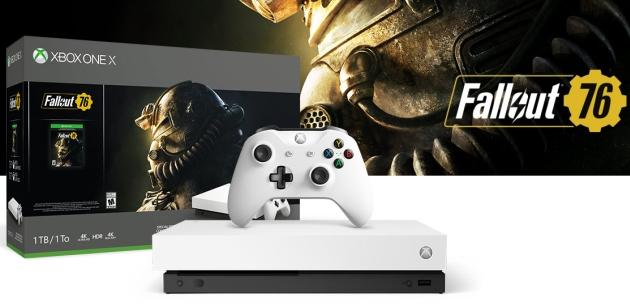 Xbox One X biały
