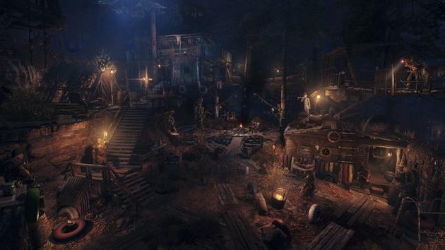 Metro Exodus - baza w lesie
