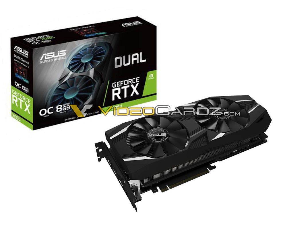 ASUS GeForce RTX 2080 Dual OC