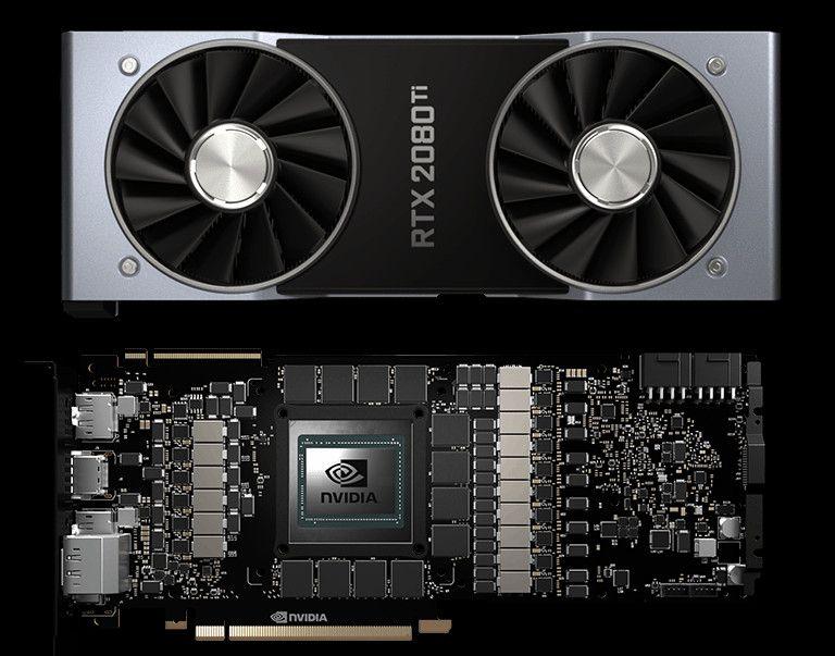 Nvidia GeForce RTX 2080 Ti PCB