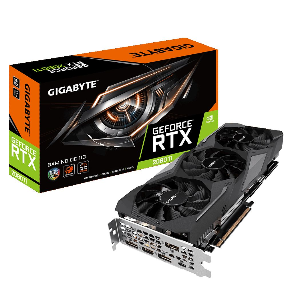 Gigabyte GeForce RTX 2080 Ti Gaming OC 8G