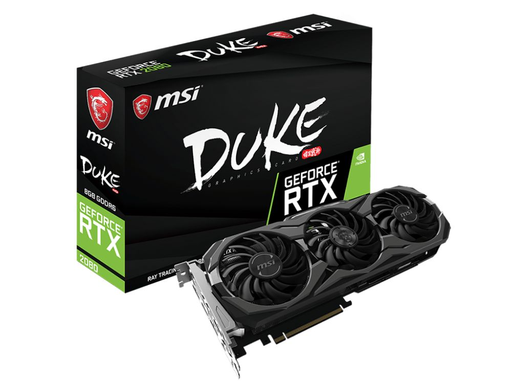 MSI GeForce RTX 2080 Duke 8G OC