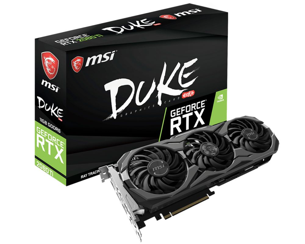 MSI GeForce RTX 2080 Ti Duke 8G OC