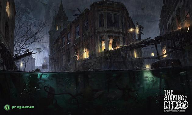 The Sinking City - potwory czające się pod powierzchnia wody
