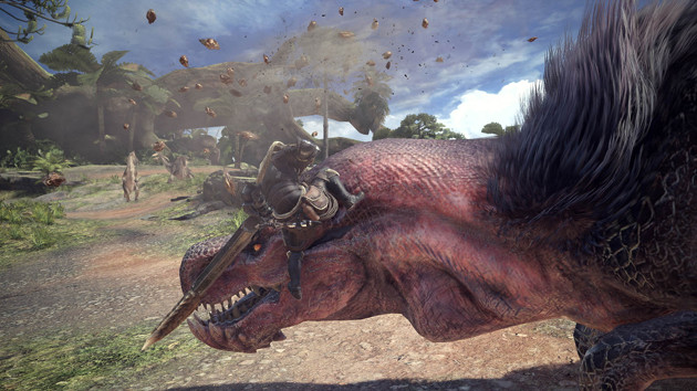 Monster Hunter: World PC screen