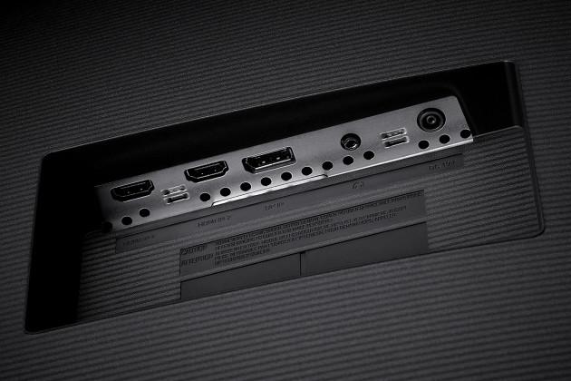 Samsung UJ59 porty