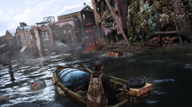 The Sinking City screen