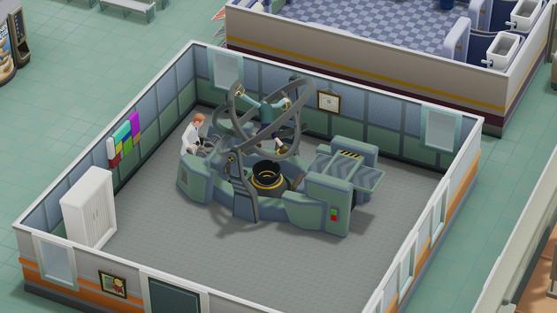 Two Point Hospital maszyna