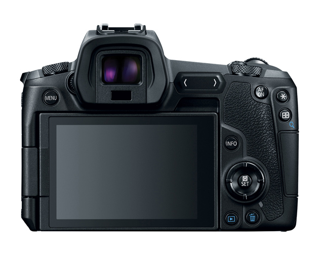 Canon EOS R LCD