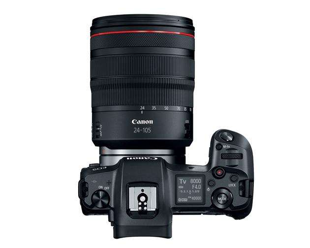 Canon EOS R góra