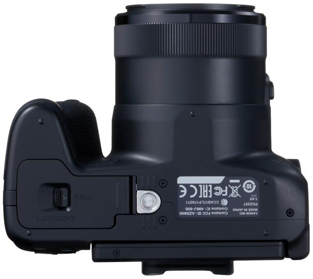 Canon Powershot SX70 HS dół