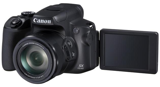 Canon Powershot SX70 HS ekran
