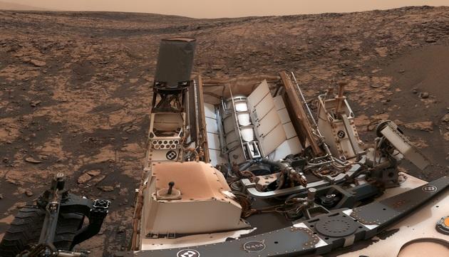 Curiosity - generator RTG