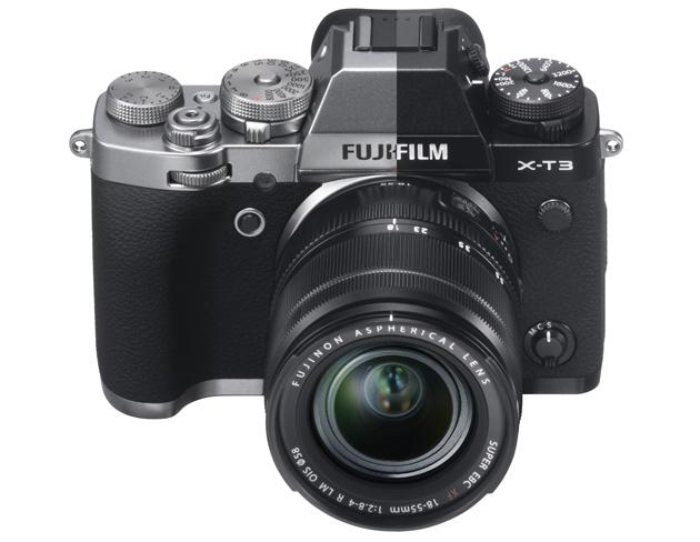 Fujifilm X-T3 kolory