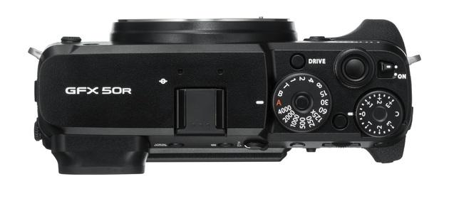 Fujifilm GFX 50R góra