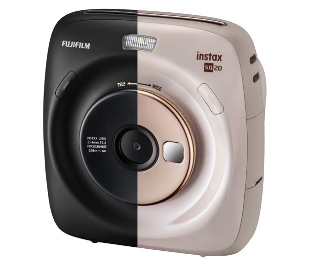 Kolory Fujifilm Instax SQ20