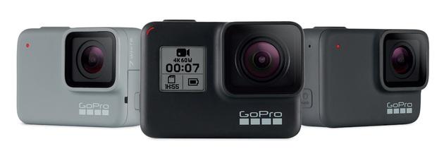 GoPro HERO 7 rodzina produktów