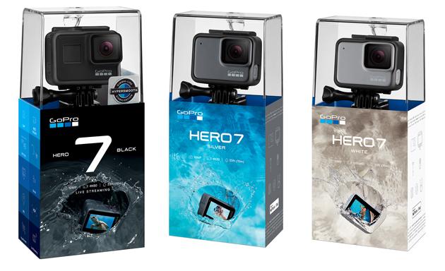 GoPro HERO 7 pudełka