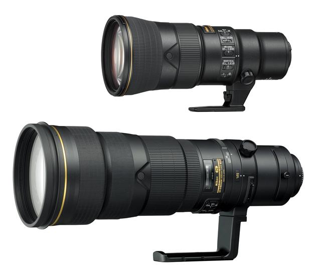 Nikkor 500 mm różne generacje