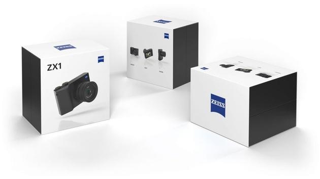 Zeiss ZX1 pudełko