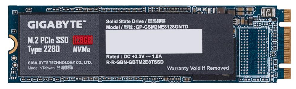 Gigabyte M.2 PCIe SSD