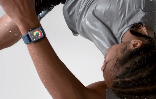 Apple Watch Series 4 skok